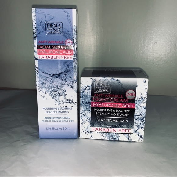 Dead Sea Collection Beauty Other - Hyaluronic Acid Set. Dead Sea Collection Beauty
